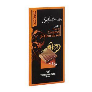 C-Select Fleur De Sel Caramel Milk Choc