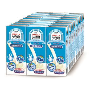 光泉低脂高鈣牛乳-200ml