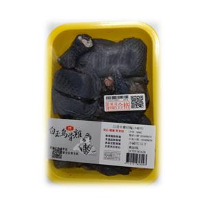 冷藏白玉烏骨雞(每盒約600克)※本商品保存期限為7天,因配送關係到府後使用期限3天