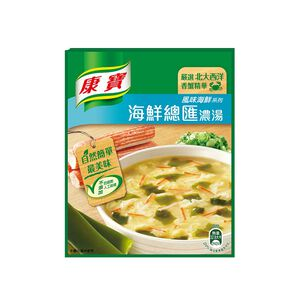 康寶濃湯-自然原味海鮮總匯38.3g