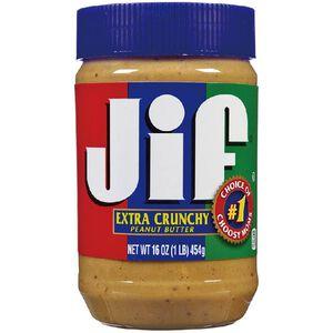 美國JIF顆粒花生醬