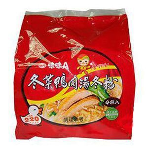 味味A冬菜鴨肉冬粉(袋) 60g