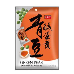 盛香珍鹹蛋黃青豆220g