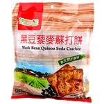 健康物語黑豆藜麥蘇打餅280g, , large