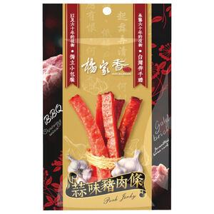 楊家香蒜味豬肉條120g