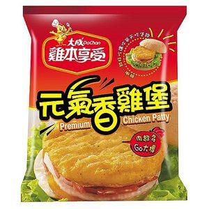 大成雞本享受元氣香雞堡-500g