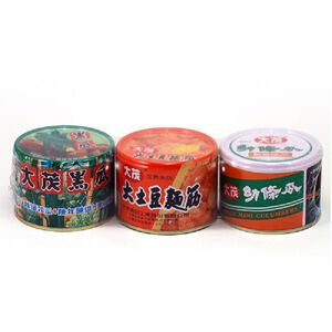 大茂三寶組合罐-170g