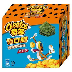奇多隨口脆-岩燒海苔口味-28gX10