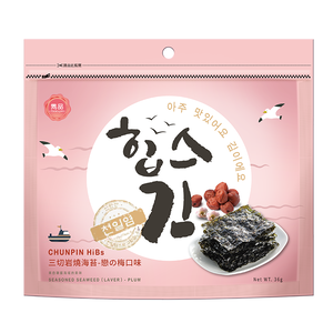 Chunpin HiBs Seasoned Seaweed PLUM