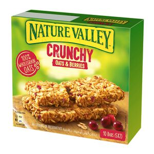 NATURE VALLEY OATS AND BERRIES