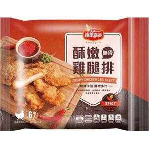 雞本享受酥嫩雞腿排辛香辣味360g