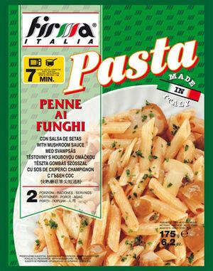 Firma Penne mushroom sauce