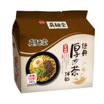 真麵堂經典厚沙茶風味袋麵92g, , large