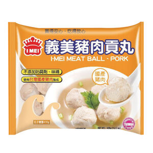 義美 豬肉貢丸-430g