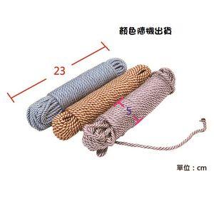 colorful endurance PP camping rope