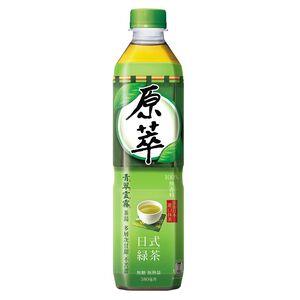 原萃日式綠茶-580ml
