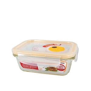 樂扣輕鬆熱玻璃保鮮盒380ml(長)