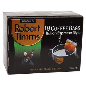 RT Italian Espresso Coffee Bags