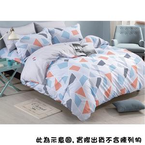 涼感紗四件式床包涼被組-加大-顏色隨機出貨