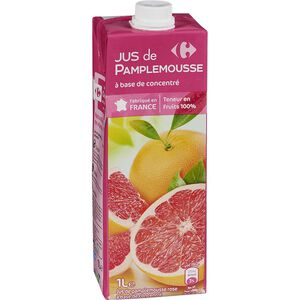 家樂福進口還原葡萄柚汁-1L