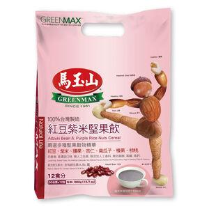 馬玉山紅豆紫米堅果飲 30克x12