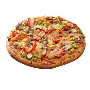 10吋蔬食菇菇披薩即食商品-到貨效期2天