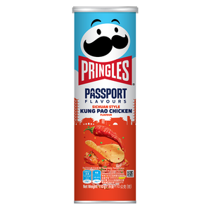 Pringles SICHUAN STYLE KUNG PAO FLAVOUR