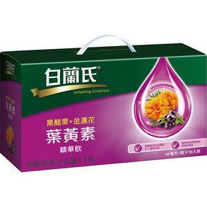 白蘭氏黑醋栗+金盞花葉黃素精華飲60mlx18