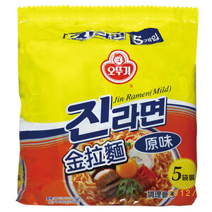 不倒翁金拉麵-原味(袋) 120g