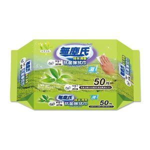 無塵氏綠茶清香抗菌擦拭巾