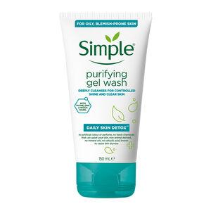 Simple Detox Gel Wash 150ML
