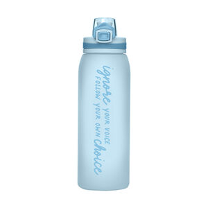 【大專開學購起來】HOUSUXI-GO戶外TRITAN彈蓋水瓶 (英文)