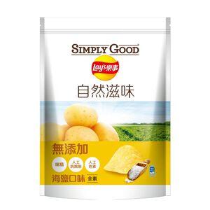 SIMPLY GOOD Lays Sea Salt