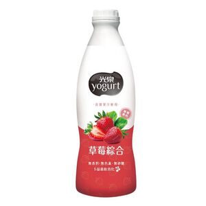 光泉優酪乳-草莓綜合-900ml到貨效期約6-8天