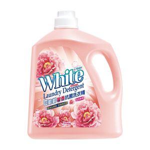 white shine detergent