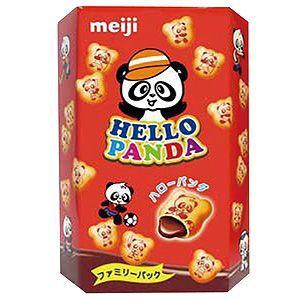 明治貓熊巧克力夾心餅家庭號