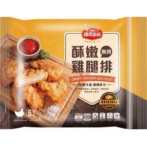 雞本享受酥嫩雞腿排香嫩原味360g