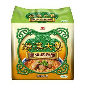 滿漢大餐蔥燒豬肉(袋) 193g