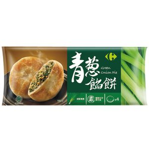 家樂福青蔥餡餅(五辛素)100gx4