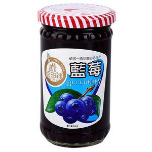 自由牌藍莓果醬400g