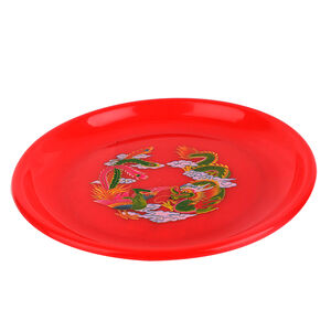 8 Inches plate with worship