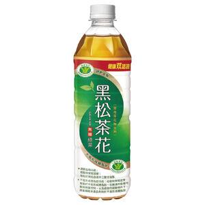 黑松茶花綠茶-無糖Pet-580ml