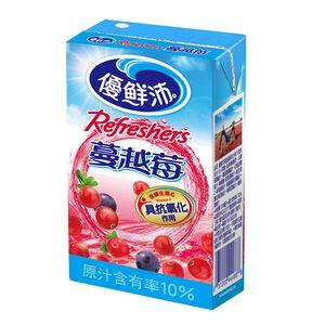 優鮮沛綜合果汁蔓越莓TP250ml