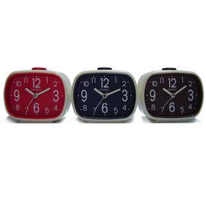 日式現代造型鬧鐘 TW-8718 -顏色隨機出貨