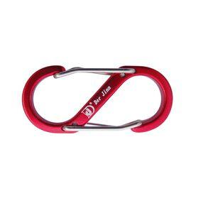 鋁合金S型扣環5cm(4入)-顏色隨機出貨