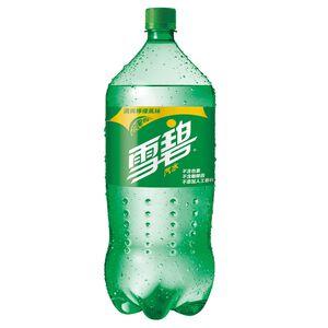 雪碧汽水2L