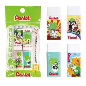 Pentel Eraser 4pcs