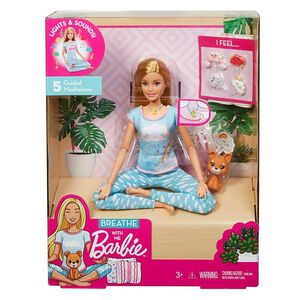 Breathe with me Barbie