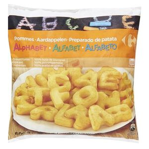 C-Alphabet Shaped Potatoes
