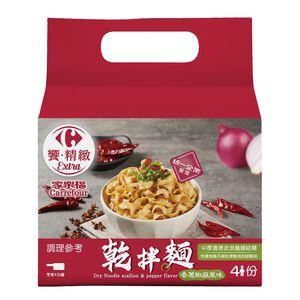 家樂福乾拌麵-香蔥椒麻風味119g